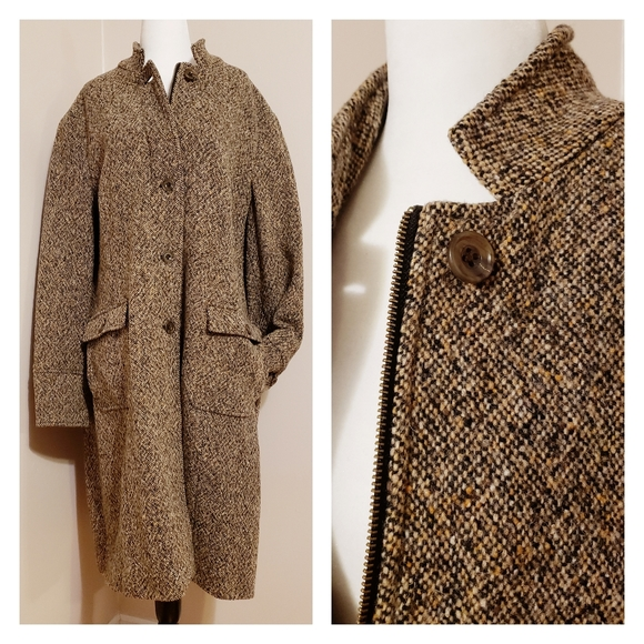 Eddie Bauer Jackets & Blazers - Eddie Bauer | Beautiful Tweed Wool Blend Jacket